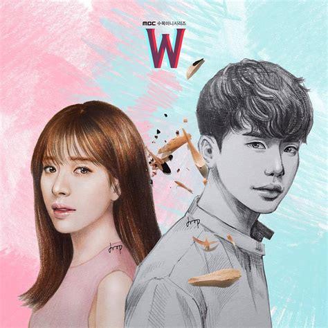 Drawing W Two Worlds by Only Jong Suk Fanart Leejongsuk Hanhyojoo W