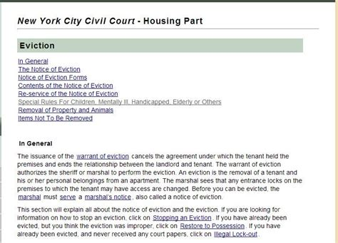 sle eviction notice new york state from print to a process server in nyc on serving an