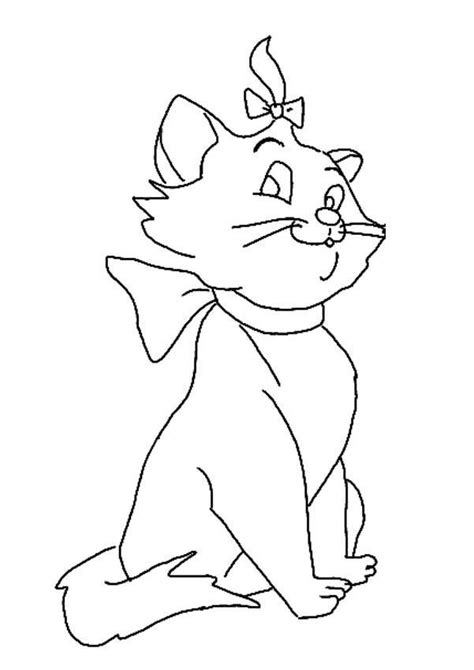 the marie cat coloring pages learn to coloring
