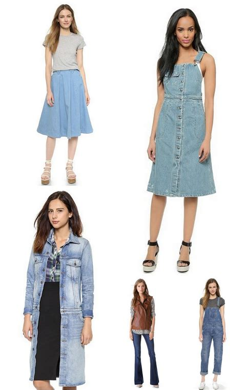 trends of jeens 2015 5 denim fashion trends to shop at the shopbop sale