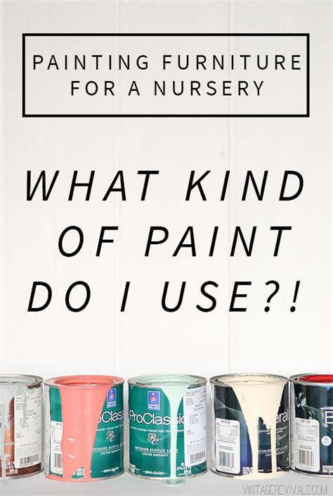 what kind of paint to use in a bathroom painting furniture for a baby nursery is it safe to paint