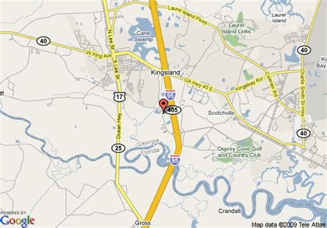 map of kingsland texas map of inn kingsland kingsland