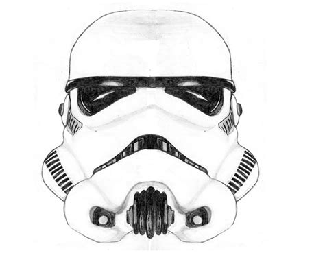 stormtrooper helmet template stormtrooper helmet draw coloring pages