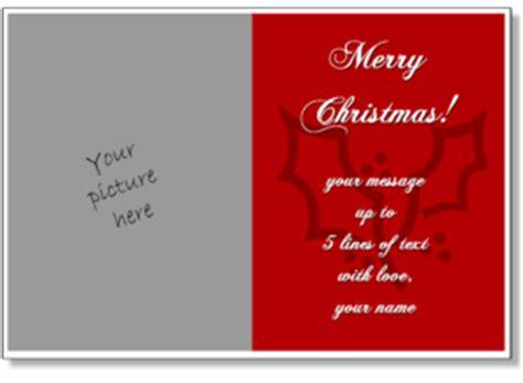 free printable christmas cards add photo christmas card templates add your own photo printable
