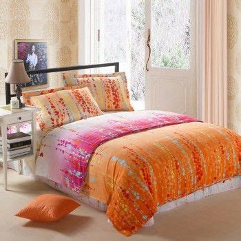 orange and pink comforter sets 25 best ideas about orange bedding on pinterest orange