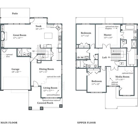 arbor homes floor plans 100 floor plans and elevation drawings front