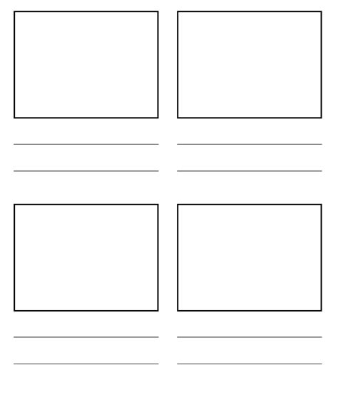 storyboard template ipadpapers story board paper templates