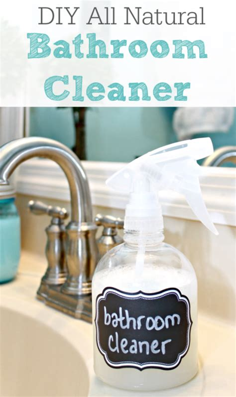 natural cleaner for bathroom diy all natural bathroom cleaner remodelaholic bloglovin