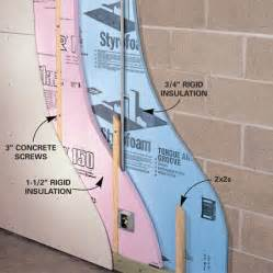 insulating a basement wall basement insulating a basement insulating basement walls rigid foam how to insulate a