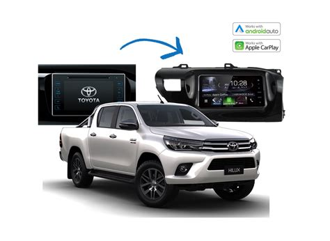 complete stereo upgrade kits toyota hilux 2014 2017