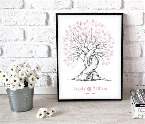 Wedding Keepsake Book by Wedding Keepsake Fingerprint Tree Fingerprint Tree