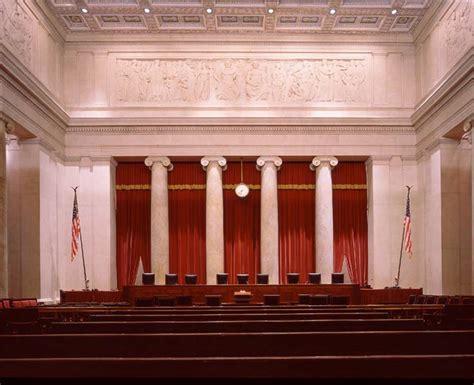 supreme court bench supreme court building religious symbols