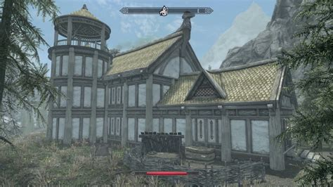 skyrim how to build a house building a house in skyrim skyrim remastered youtube