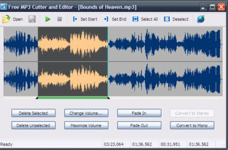 best mp3 cutter for pc free download list of best free audio cutter software