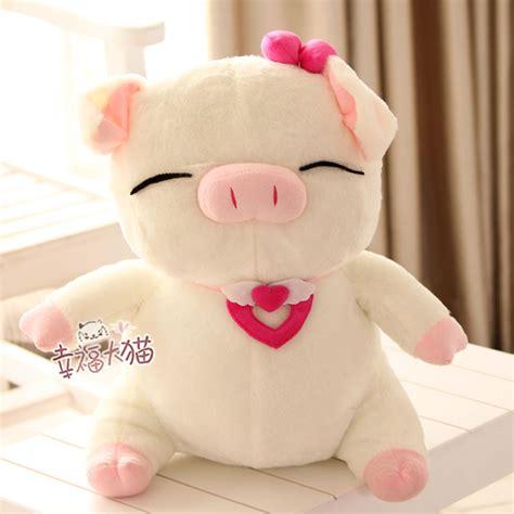Cribcot Pillowcase 35 X 27 Cm sale 35cm lover bowknot sweet pig plush doll hold pillow stuffed birthday