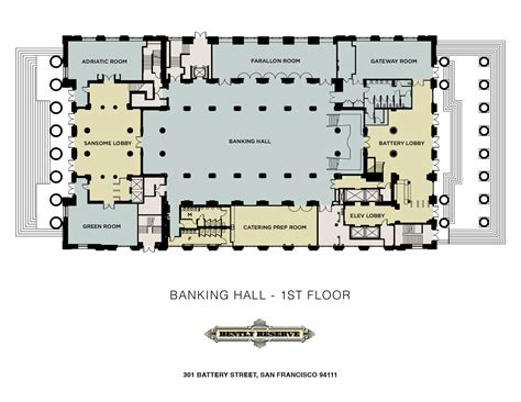 bank of america floor plan house plan the banking hall first floor bank of america