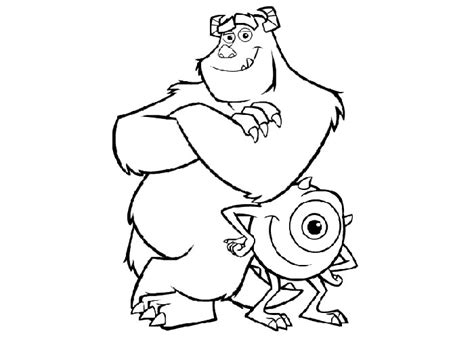 Monsters Inc Coloring Pages Best Coloring Pages For Kids Inc Color