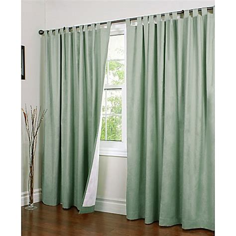 double panel curtains buy thermalogic 174 weathermate 84 inch double wide tab top