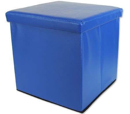 foldable storage ottoman foldable storage ottoman blue crazy sales
