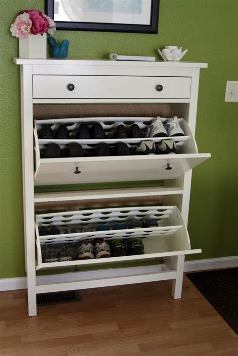 shoe storage small 63 clever hallway storage ideas digsdigs