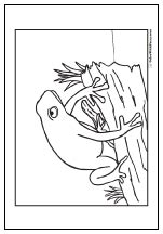 coloring page frog on a log 49 frog coloring pages hopping good fun and customizable