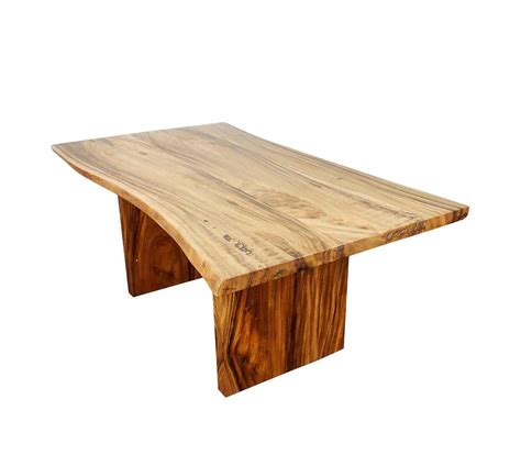 Natural Wood Dining Table PG Travis   Modern Dining