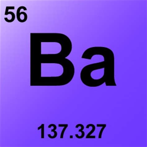 Ba On The Periodic Table by Freeteacher Chemistry Periodic Table Elements