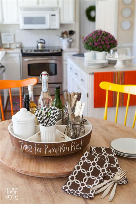 kitchen table decor ideas fall home tour part 2 in my own style