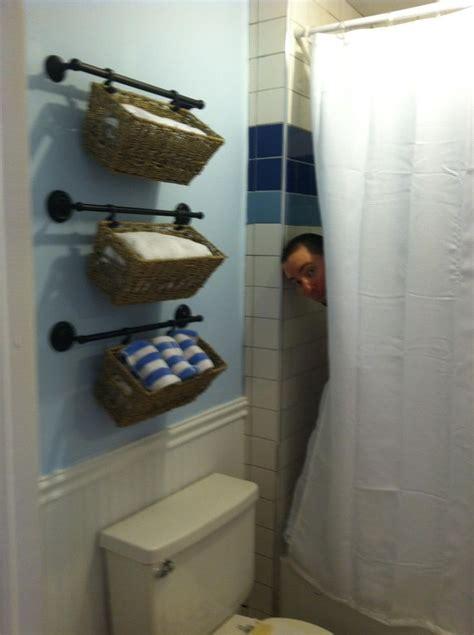 Towel Basket Bathroom » Home Design 2017