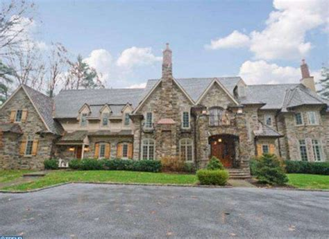 Townhouse Plans For Sale by 4 9 Million Newly Listed Stone Mansion In Gladwyne Pa