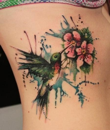 abstract flower tattoo designs abstract hummingbird and flowers