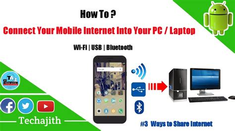 connect mobile 3 ways to connect mobile to pc how to connect