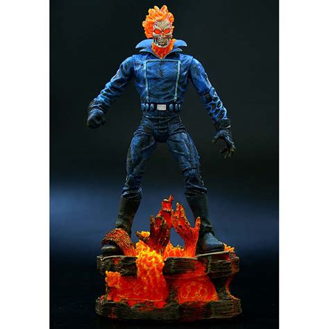 Zoom Ghost Rider Premiere by Ghost Rider Motoqueiro Fantasma Marvel Select Glacon
