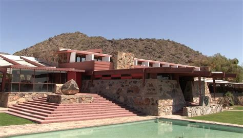 getting personal with frank lloyd wright taliesin and inside look at frank lloyd wright s taliesin west az big