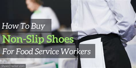 best slip resistant shoes for chefs and servers nike