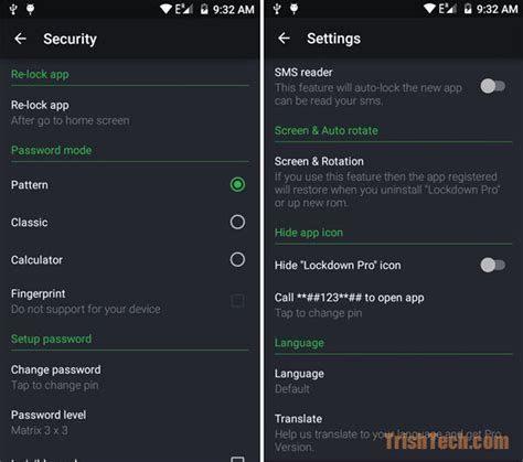 password protect apps android password protect apps with lockdown pro for android