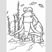 Ice Age Characters Coloring Pages   ialoveni.info