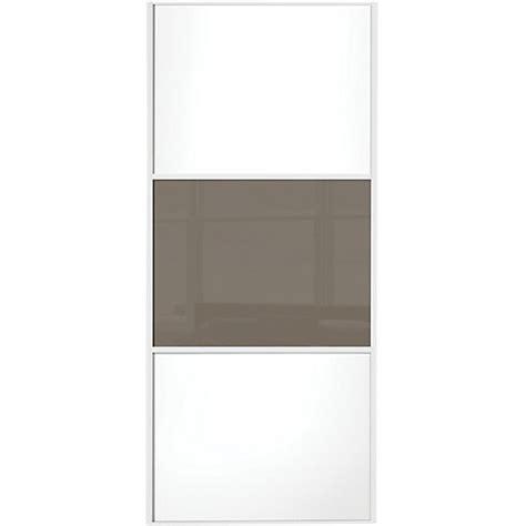wickes sliding wardrobe door wideline white panel