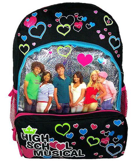 high school musical backpack ebay