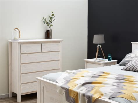 Contemporary Bedroom Furniture Melbourne Chest Of Drawers Tallboy White B2c Furniture