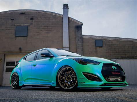 hyundai veloster tuned 2013 hyundai veloster turbo by fox marketing tuning ds