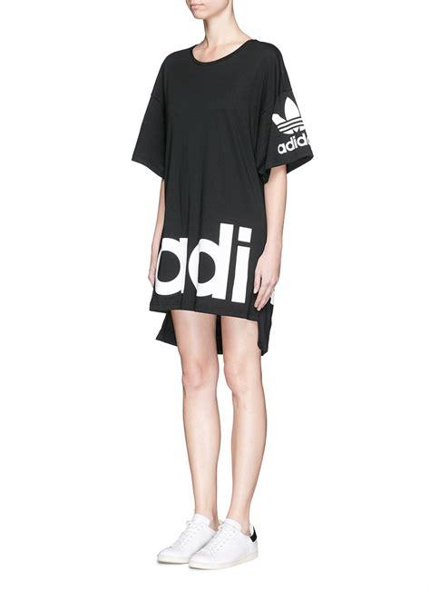 Dress Hodie Adidas adidas x ora mystic moon jersey t shirt dress in black lyst