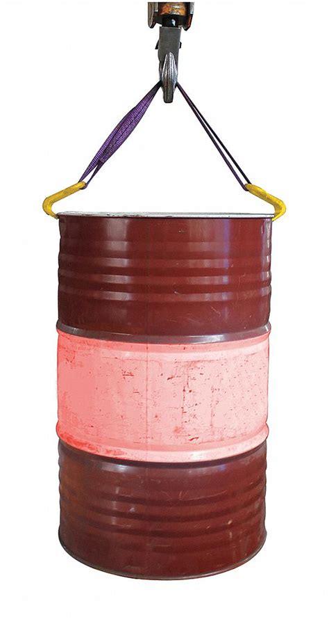 grainger approved drum sling vertical  lb load