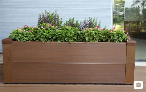 Flower Box Planter by Milan Ecowood Indonesia