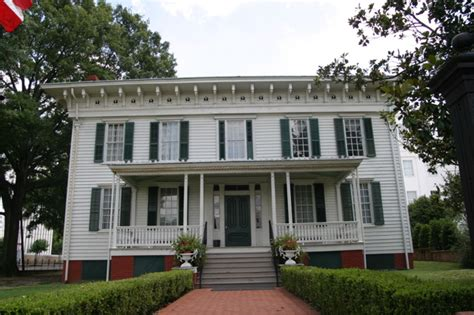 where was the original white house first white house of the confederacy openbuildings