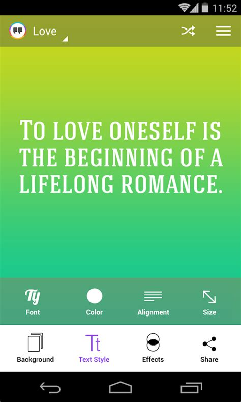 quotes app tutorial kwote quote maker android apps on google play