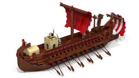 minecraft boat oar lego ideas product ideas l m i r roman bireme