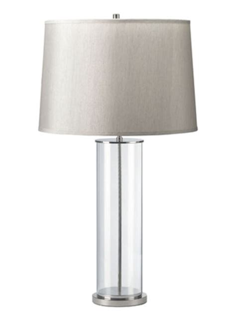 The Home Decorators Collection by Ralph Lauren Home Payton Glass Cylinder Lamp Look 4 Less