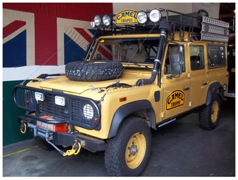 spotted camel trophy defender west county explorers club