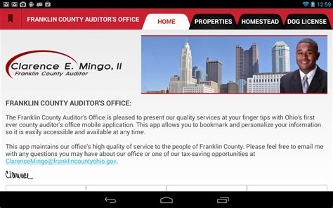 State Of Ohio Property Records Franklin County Auditor Real Estate Overview The Knownledge